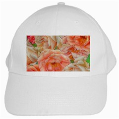 Great Garden Roses, Orange White Cap