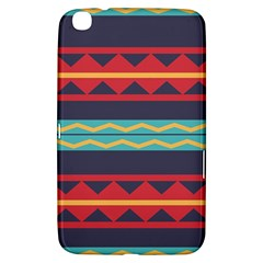 Rhombus And Waves Chains Pattern Samsung Galaxy Tab 3 (8 ) T3100 Hardshell Case  by LalyLauraFLM