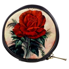 Red Rose #2 Mini Makeup Bags by ArtByThree
