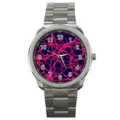 Hot Web Pink Sport Metal Watches by ImpressiveMoments