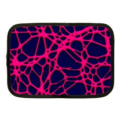 Hot Web Pink Netbook Case (medium)  by ImpressiveMoments
