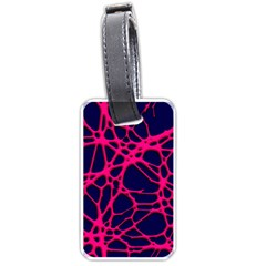 Hot Web Pink Luggage Tags (one Side)  by ImpressiveMoments