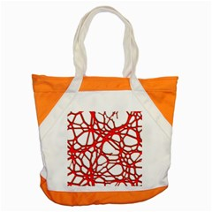 Hot Web Red Accent Tote Bag  by ImpressiveMoments