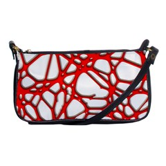 Hot Web Red Shoulder Clutch Bags by ImpressiveMoments