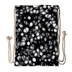 Chaos Decay Drawstring Bag (large) by KirstenStar