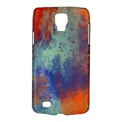 Abstract In Green, Orange, And Blue Galaxy S4 Active by digitaldivadesigns
