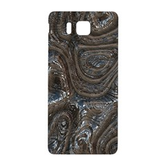 Brilliant Metal 2 Samsung Galaxy Alpha Hardshell Back Case by MoreColorsinLife