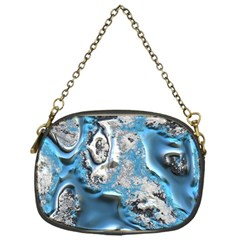 Metal Art 11, Blue Chain Purses (one Side)  by MoreColorsinLife