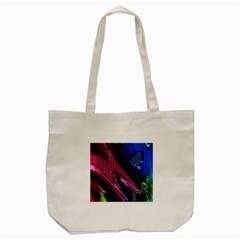 Colorful Broken Metal Tote Bag (cream)  by MoreColorsinLife