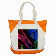 Colorful Broken Metal Accent Tote Bag  by MoreColorsinLife