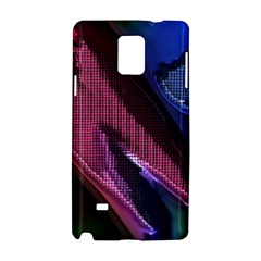 Colorful Broken Metal Samsung Galaxy Note 4 Hardshell Case by MoreColorsinLife