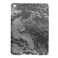 Metal Art Swirl Silver Ipad Air 2 Hardshell Cases by MoreColorsinLife