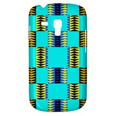 Triangles In Rectangles Pattern Samsung Galaxy S3 Mini I8190 Hardshell Case by LalyLauraFLM