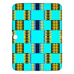 Triangles In Rectangles Pattern Samsung Galaxy Tab 3 (10 1 ) P5200 Hardshell Case  by LalyLauraFLM