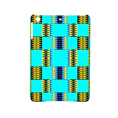 Triangles In Rectangles Pattern Apple Ipad Mini 2 Hardshell Case by LalyLauraFLM