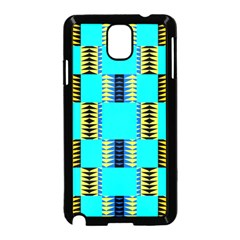 Triangles In Rectangles Pattern Samsung Galaxy Note 3 Neo Hardshell Case by LalyLauraFLM