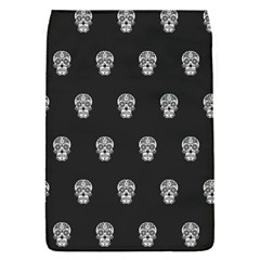Skull Pattern Bw  Flap Covers (s)  by MoreColorsinLife