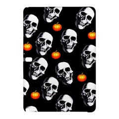 Skulls And Pumpkins Samsung Galaxy Tab Pro 10 1 Hardshell Case by MoreColorsinLife