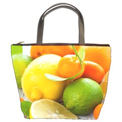 Citrus Fruits Bucket Bags by emkurr
