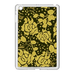 Floral Wallpaper Forest Apple Ipad Mini Case (white) by ImpressiveMoments