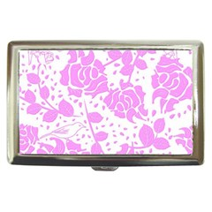 Floral Wallpaper Pink Cigarette Money Cases by ImpressiveMoments