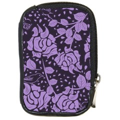 Floral Wallpaper Purple Compact Camera Cases by ImpressiveMoments