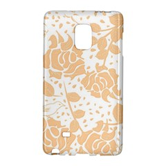 Floral Wallpaper Peach Galaxy Note Edge by ImpressiveMoments