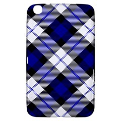 Smart Plaid Blue Samsung Galaxy Tab 3 (8 ) T3100 Hardshell Case  by ImpressiveMoments