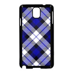 Smart Plaid Blue Samsung Galaxy Note 3 Neo Hardshell Case (black) by ImpressiveMoments