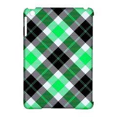 Smart Plaid Green Apple Ipad Mini Hardshell Case (compatible With Smart Cover) by ImpressiveMoments