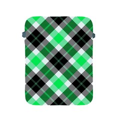 Smart Plaid Green Apple Ipad 2/3/4 Protective Soft Cases by ImpressiveMoments