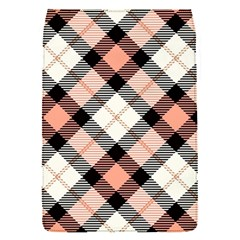 Smart Plaid Peach Flap Covers (s)