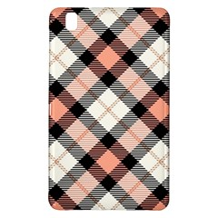 Smart Plaid Peach Samsung Galaxy Tab Pro 8 4 Hardshell Case by ImpressiveMoments