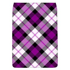 Smart Plaid Purple Flap Covers (l)  by ImpressiveMoments