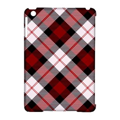 Smart Plaid Red Apple Ipad Mini Hardshell Case (compatible With Smart Cover) by ImpressiveMoments