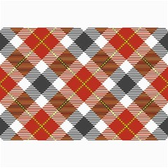Smart Plaid Warm Colors Collage 12  X 18  by ImpressiveMoments