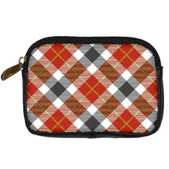 Smart Plaid Warm Colors Digital Camera Cases by ImpressiveMoments