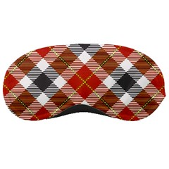 Smart Plaid Warm Colors Sleeping Masks by ImpressiveMoments