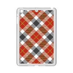 Smart Plaid Warm Colors Ipad Mini 2 Enamel Coated Cases by ImpressiveMoments