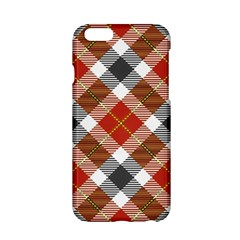 Smart Plaid Warm Colors Apple Iphone 6/6s Hardshell Case by ImpressiveMoments