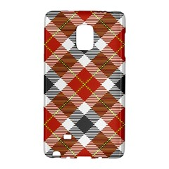 Smart Plaid Warm Colors Galaxy Note Edge by ImpressiveMoments