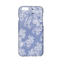 Delicate Floral Pattern,blue  Apple Iphone 6/6s Hardshell Case by MoreColorsinLife