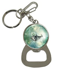 Funny Dswimming Dolphin Bottle Opener Key Chains