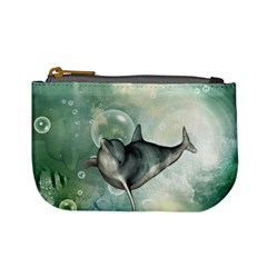 Funny Dswimming Dolphin Mini Coin Purses