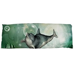 Funny Dswimming Dolphin Body Pillow Cases Dakimakura (two Sides)