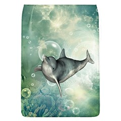 Funny Dswimming Dolphin Flap Covers (l)