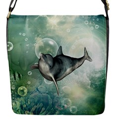 Funny Dswimming Dolphin Flap Covers (s)
