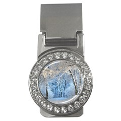 Another Winter Wonderland 1 Money Clips (cz)  by MoreColorsinLife