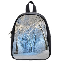 Another Winter Wonderland 1 School Bags (small)  by MoreColorsinLife