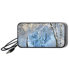 Another Winter Wonderland 1 Portable Speaker (black)  by MoreColorsinLife